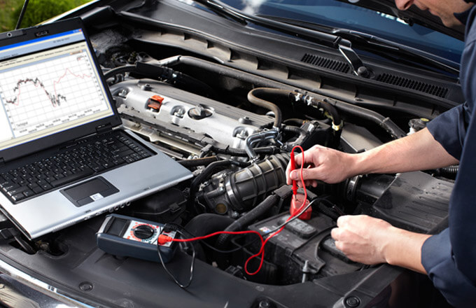 diagnostic testing equipment at gary lenz mechanical gladstone